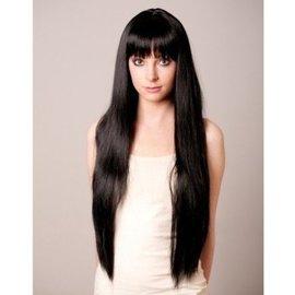 Loftus International Long Flowing Black Wig by Loftus International