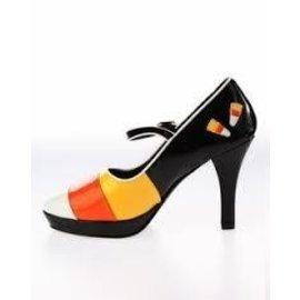 Contessa Shoes-55 (Candy Corn) 8 by Pleaser USA