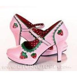 Contessa Shoes-58 (Strawberry) Size 7 by Funtasma