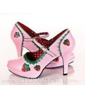 Contessa Shoes-58 (Strawberry) Size 7 by Funtasma