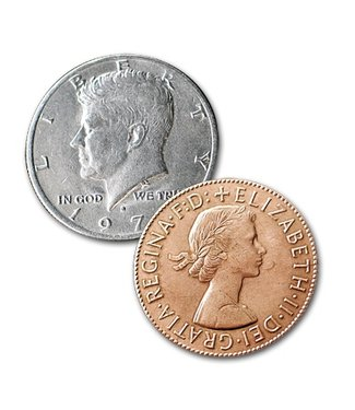 Copper/Silver Half - Johnson (M10)