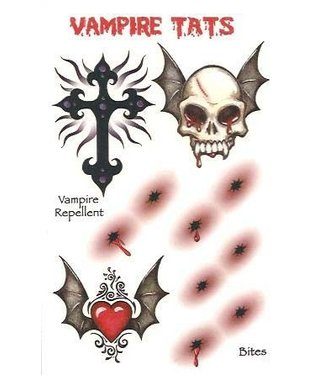 Vampire #2 Temporary Tattoos by Johnson And Mayer