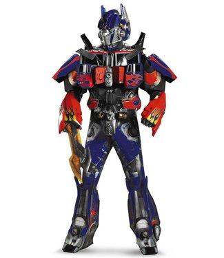 Disguise Optimus Prime Theatrical W Vacuform Plus 3D
