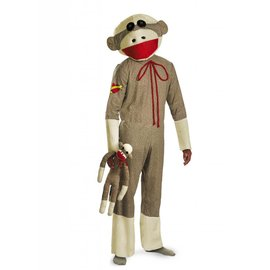 Disguise Sock Monkey - Adult