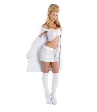 Disguise Women of Marvel - Emma Frost Sassy Prestige Large