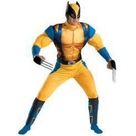 Disguise X-Men Origins Wolverine Classic Muscle Chest - Adult Extra Large