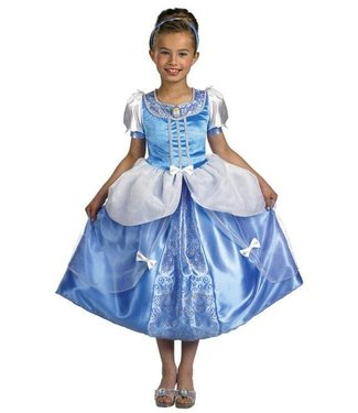 Disguise Cinderella, Deluxe  - Child Size 4-6