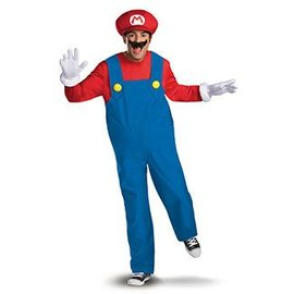 Disguise Super Mario Deluxe Adult - 2XL 52-56