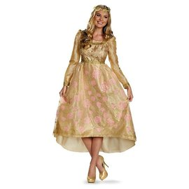 Disguise Aurora Coronation Gown Adult Deluxe Size 4-6
