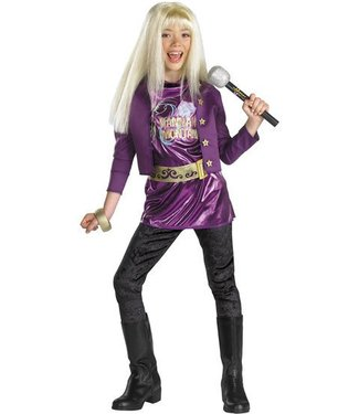 Disguise Hannah Montana - Special Purple Costume 4-6