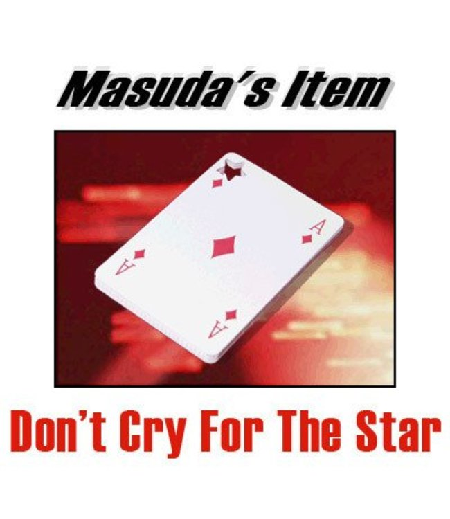 Card - Don't Cry For The Star by Katsuya Masuda from Atto(M10)