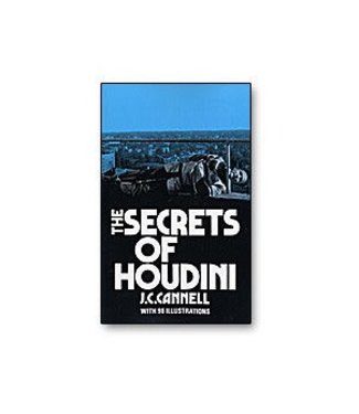 Book - The Secrets of Houdini by J.C. Cannell  and Dover Publications and BTC(M7)