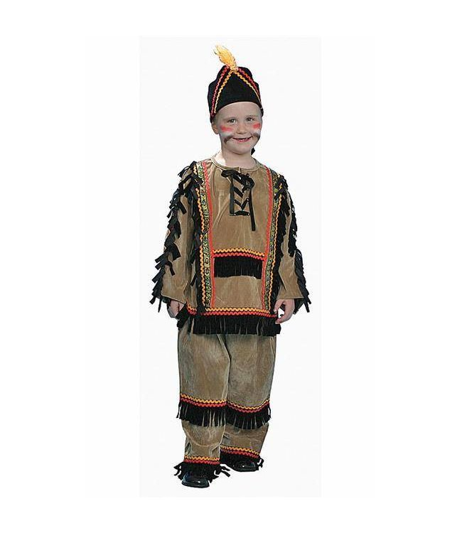 Dress Up America Native Indian Boy - Child Small 4-6