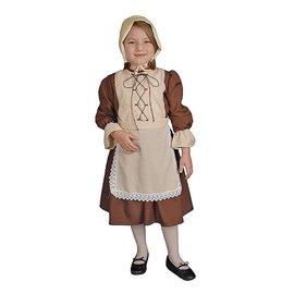 Dress Up America Colonial Girl - Child Size 4-6