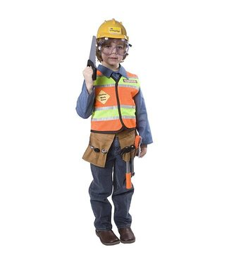 Dress Up America Construction Worker - Tot/Child T4
