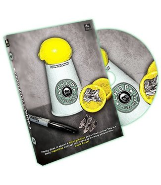 Chop - Gimmicks and DVD by Craig Petty and Wizard FX Productions (M10)