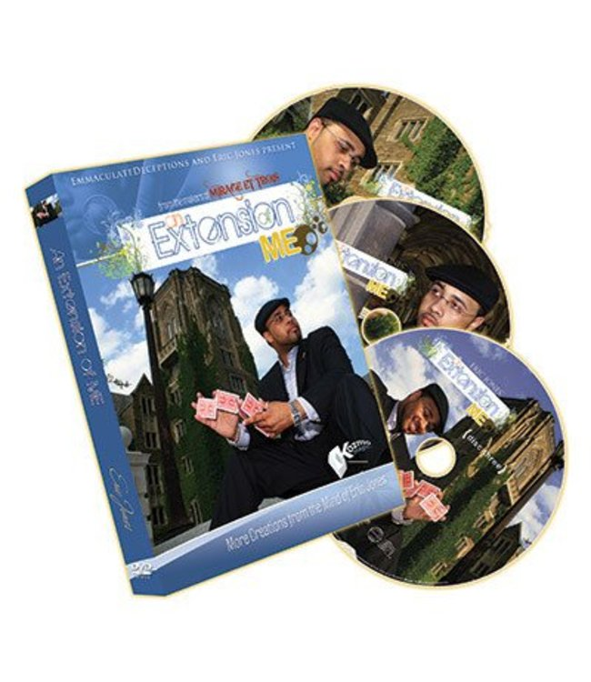 DVD An Extension of Me with Gimmick Coin by Eric Jones from Kozmo Magic
