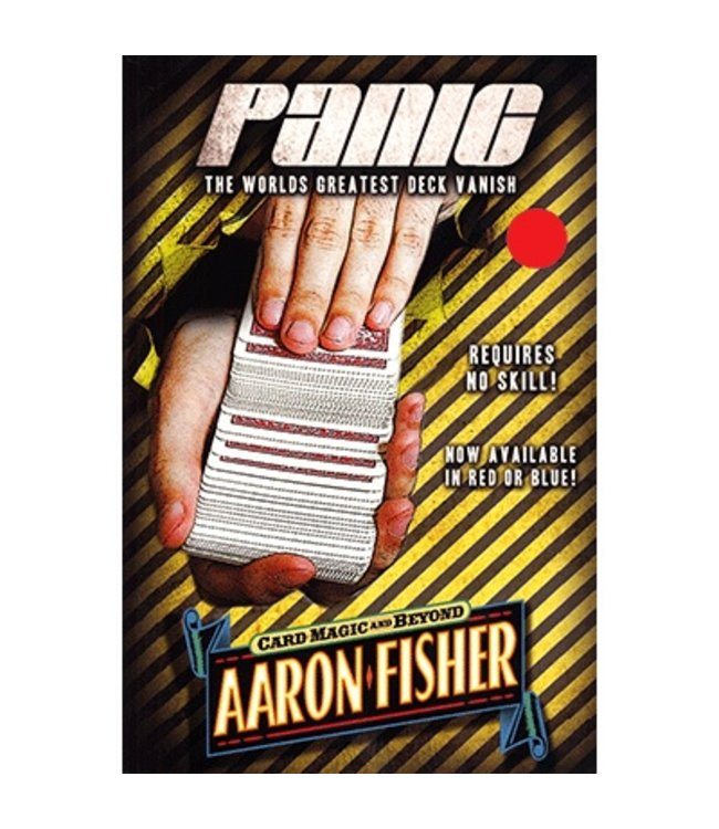 Panic, DVD and Gimmick, RED by Aaron Fisher (M10)