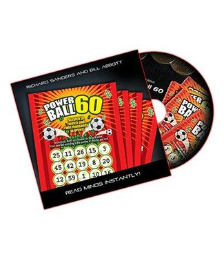 Powerball 60 - U.S., DVD and Gimmick by Richard Sanders and Bill Abbott (M10)