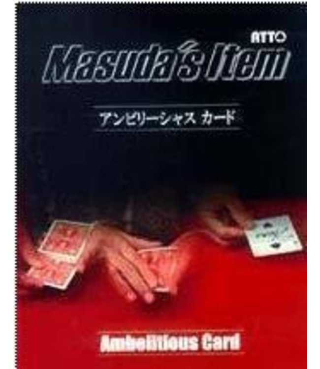 Card - Pre-Owned, Ambelitious Card by Masuda  fm Atto (M10)