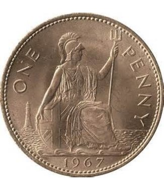 English Penny EACH - Coin (M10)