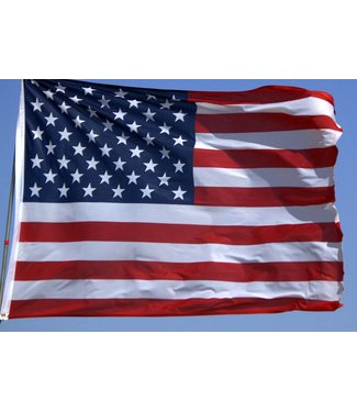 American Flag 2' x 3' - Polyester by Nabco Banner