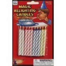 Forum Novelties Magic Relighting Candles