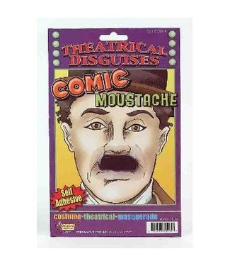 Forum Novelties Comic Moustache - Chaplin