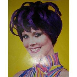 Forum Novelties Purple Blooming Wig