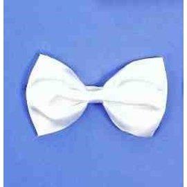 Forum Novelties Bow Tie With Elastic - White