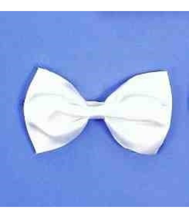 Forum Novelties Bow Tie With Elastic - White