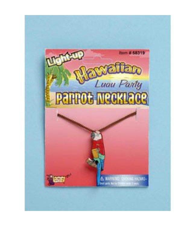 Forum Novelties Light Up Parrot Necklace
