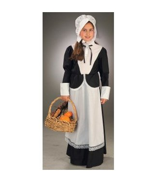 Forum Novelties Child Pilgrim Girl Medium 8-10 by Forurm Novelties