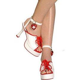 Forum Novelties Hospital Honey Shoes 9-10