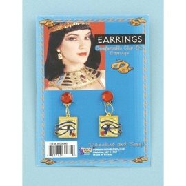 Forum Novelties Cleopatra Clip On Earrings (C15)