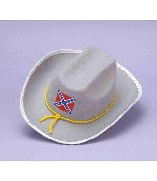 Forum Novelties Confederate Officer Hat - Felt