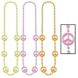 Forum Novelties Peace Beads Set Of Three (C3)