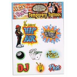 Forum Novelties Hip Hop Temporary Tattoos