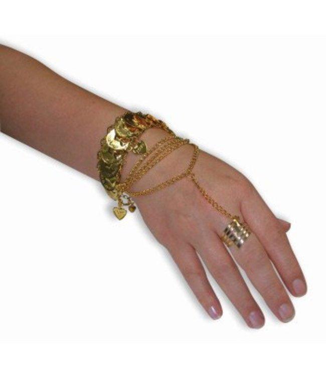 Forum Novelties Desert Princess Hand Jewlery (C15)