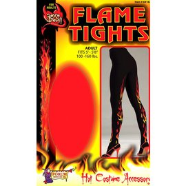 Forum Novelties Sexy Devil FlameTights