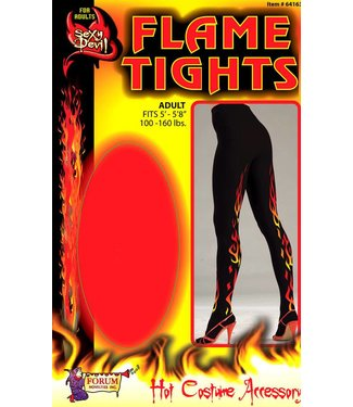 Forum Novelties Sexy Devil FlameTights