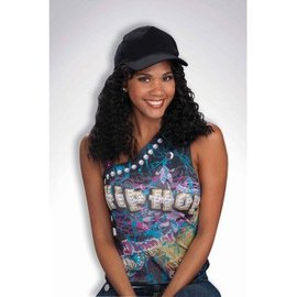 Forum Novelties Hip Hop Girlfriend Hat & Wig