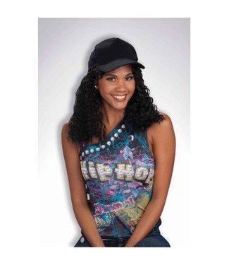 Forum Novelties Hip Hop Girlfriend Hat & Wig
