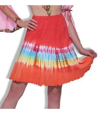 Forum Novelties Tie Dye Skirt 14-16