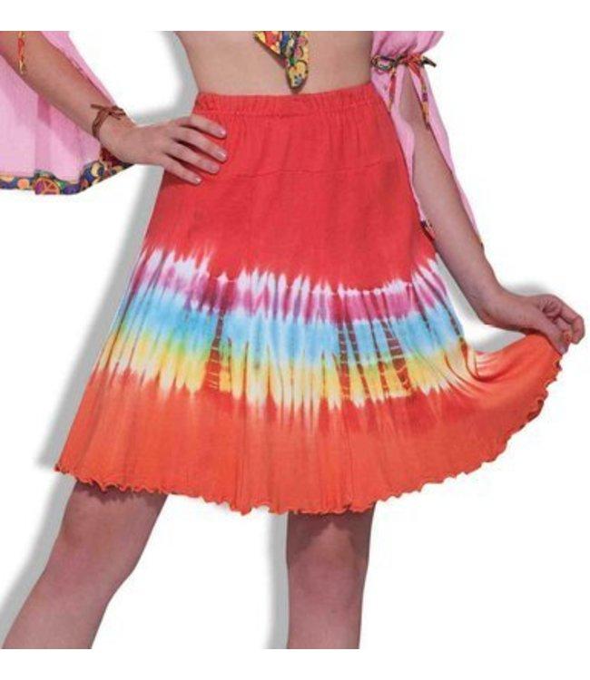 Forum Novelties Tie Dye Skirt 14-16