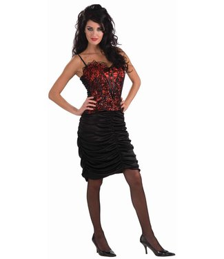 Forum Novelties Vampiress Ruched Skirt only up to 14-16
