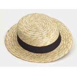 Forum Novelties Adult Straw Skimmer Hat