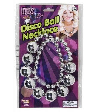 Forum Novelties 70's Disco Fever Disco Ball Necklace (C3)