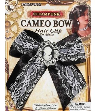 Forum Novelties Cameo Bow Hair Clip (C13)