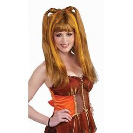 Forum Novelties Brown/Orange Harvest Wig, Fantasy Fairies